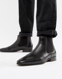 Черные кожаные ботинки челси ALDO-Черный
