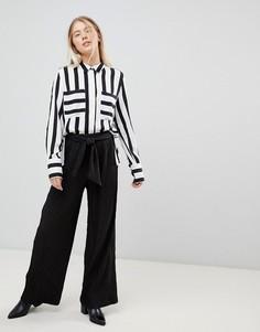Широкие брюки Moves By Minimum-Черный