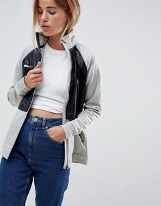 Куртка на молнии с водонепроницаемыми вставками Roxy-Серый