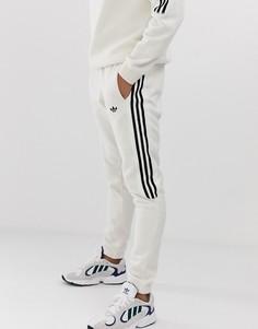 Джоггеры с 3 полосками adidas Originals-Бежевый