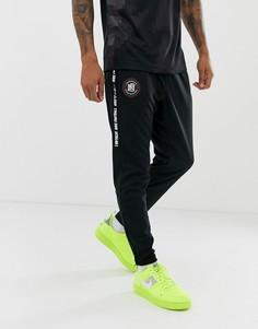 Черные джоггеры с логотипом Nike FC-Черный