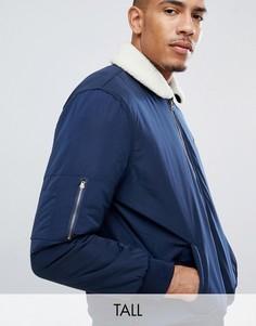 Куртка Le Breve TALL-Темно-синий