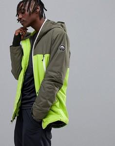 Зеленая куртка Quiksilver-Зеленый