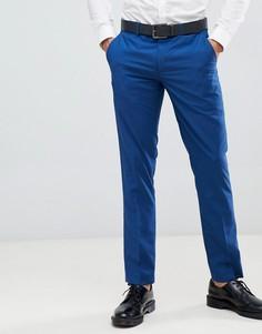 Узкие брюки Farah Henderson-Синий