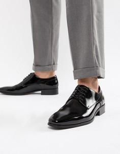Черные туфли со шнуровкой ALDO Bussum-Черный