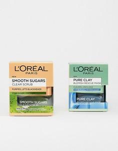 Набор средств для борьбы с черными точками LOreal - СКИДКА 17%-Бесцветный LOreal