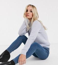 Синие джинсы скинни Vero Moda Petite-Синий