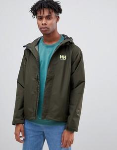 Зеленая куртка Helly Hansen loke-Зеленый