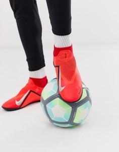 Красные бутсы Nike Football-Красный