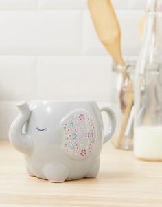 Кружка с дизайном в виде слона Sass & Belle-Мульти