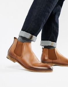 Светло-коричневые кожаные ботинки челси ALDO Albiston-Светло-коричневый