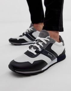 Белые сетчатые кроссовки BOSS Parkour-Белый