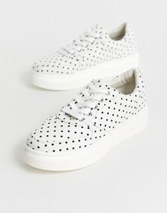 Кроссовки на шнуровке Blink-Белый