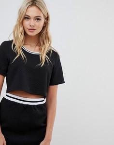 Свободная футболка Urban Bliss jane-Черный