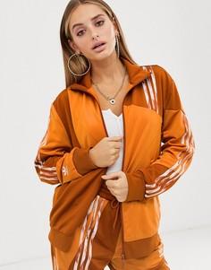 Оранжевая куртка adidas Originals x Danielle Cathari Firebird-Оранжевый