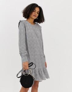 Платье в клетку Minimum-Мульти