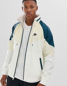Бежевая куртка Nike-Бежевый