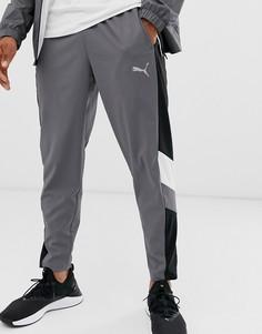 Серые складывающиеся джоггеры Puma Training-Серый