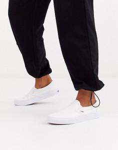 Белые кеды-слипоны Vans Classic-Белый