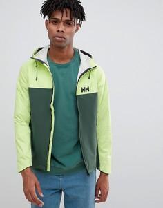 Зеленая куртка Helly Hansen seven-Зеленый