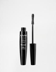 Водостойкая тушь для ресниц NYX Professional Make-Up Doll Eye-Черный