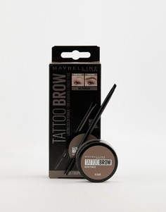 Стойкая помада для бровей Maybelline Tattoo Brow-Коричневый
