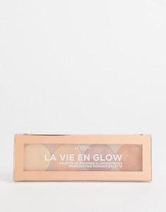 Палитра пудр-хайлайтеров LOreal Paris La Vie En Glow Warm Glow-Мульти LOreal