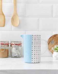 Синий кувшин или ваза Root 7-Мульти