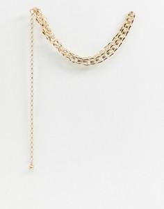 Золотистый ремень-цепочка Glamorous-Золотой