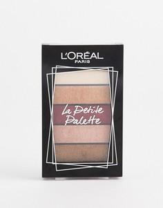 Мини-палитра теней для век LOréal Paris 02 Nudist-Мульти LOreal
