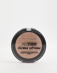 Пудра-хайлайтер Maybelline Master Chrome 300 Sandstone-Золотой