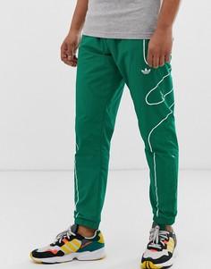 Зеленые джоггеры adidas Originals flamestrike-Зеленый
