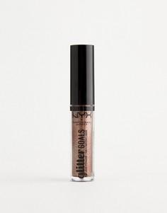 Жидкие тени для век с блестками NYX Professional Makeup - Multiverse-Коричневый