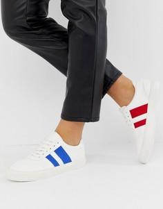 Кроссовки со шнуровкой ASOS DESIGN Delaney-Белый