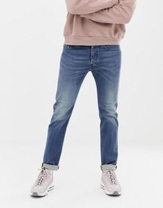 Классические джинсы слим Diesel Buster 084TU-Синий