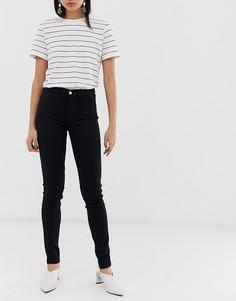 Черные джинсы скинни Selected femme-Черный