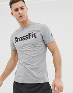 Серая футболка Reebok Crossfit Speedwick-Серый