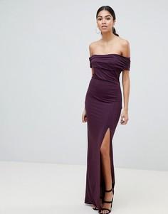 Платье макси AX Paris-Фиолетовый