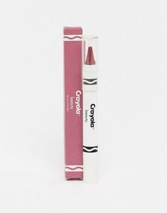 Карандаш для губ и щек Crayola - Velvet Pink-Фиолетовый