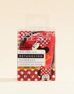 Компактная щетка для волос с принтом Минни-Маус Tangle Teezer-Бесцветный