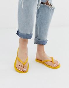 Ярко-желтые шлепанцы Havaianas-Желтый
