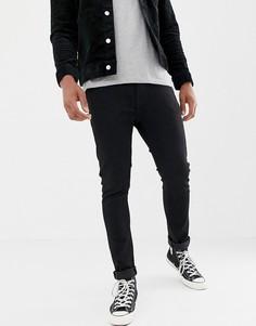 Черные джинсы скинни с классической талией Levis 510 - stylo-Черный