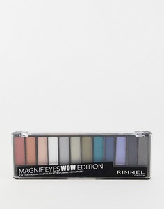 Палитра теней для век Rimmel MagnifEyes Eye WOW Edition-Мульти