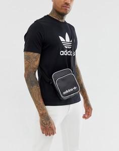 Черная сумка для авиапутешествий adidas Originals-Черный