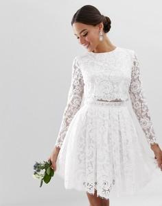 Свадебные платья вечерние