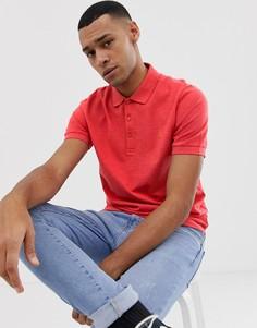 Поло красного цвета Farah Blaney-Красный