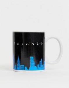 Кружка с меняющимся от тепла принтом Friends-Мульти Paladone