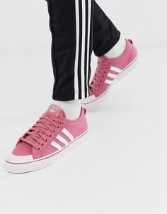 Розовые кроссовки adidas Originals Nizza-Зеленый