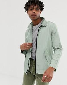 Легкая зеленая куртка Харрингтон ASOS DESIGN-Зеленый