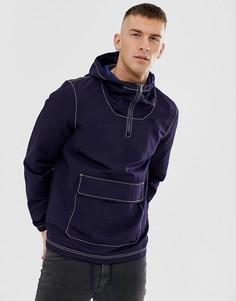 Темно-синяя куртка ASOS DESIGN-Темно-синий
